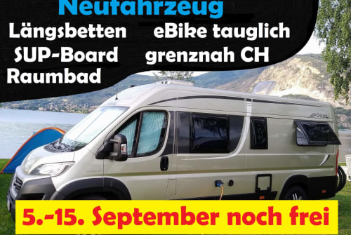 Hire a motorhome in Frittlingen from private owners  Pössl Roadcruiser
