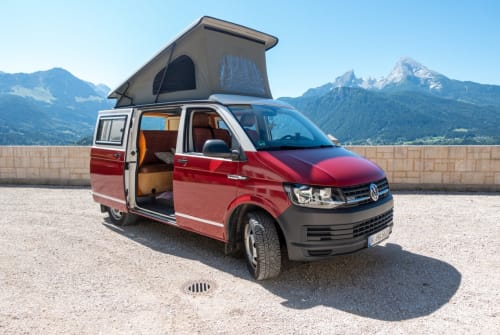 Hire a motorhome in Bischofswiesen from private owners   VW Rudi
