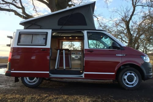 Hire a motorhome in Bischofswiesen from private owners|  VW Rudi