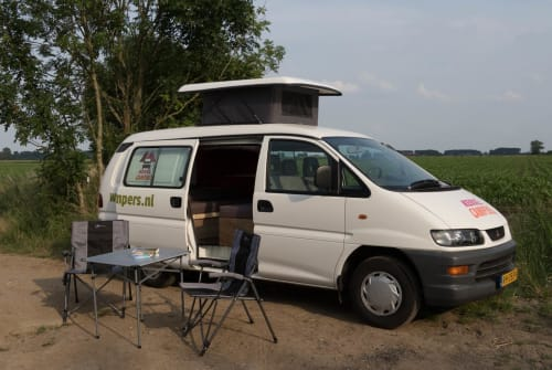 Hire a motorhome in Utrecht from private owners| Mitsubishi Berg