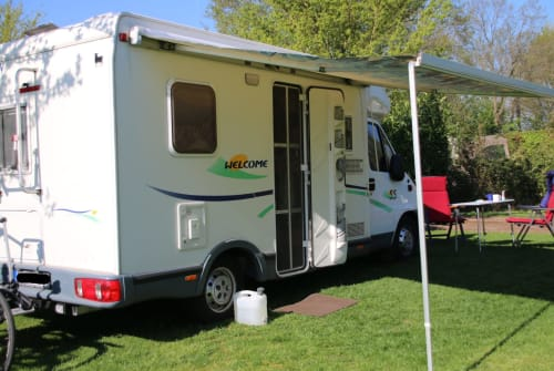 Hire a motorhome in Leer from private owners  Chausson Nordlicht