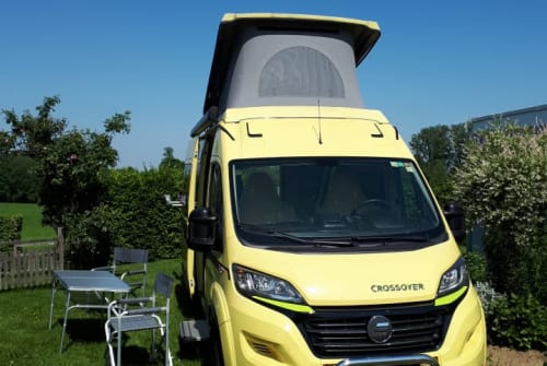 Hire a motorhome in Hochdorf from private owners| Hymer Miss Liberty
