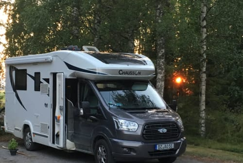 Hire a motorhome in Rackwitz from private owners  Chausson Windjäger