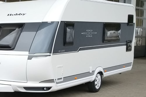 Hire a motorhome in Erkheim from private owners  Hobby Santa
