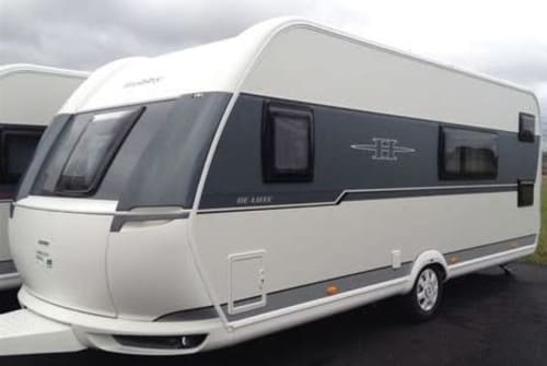 Hire a motorhome in Erkheim from private owners| Hobby Santa