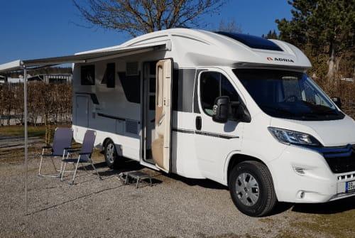 Hire a motorhome in Böblingen from private owners| Adria Matrix