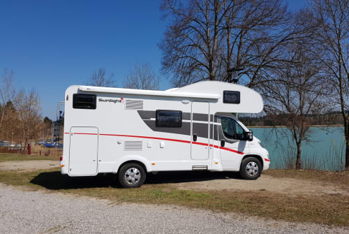 Hire a motorhome in Poing from private owners| Fiat Ducato  Paula