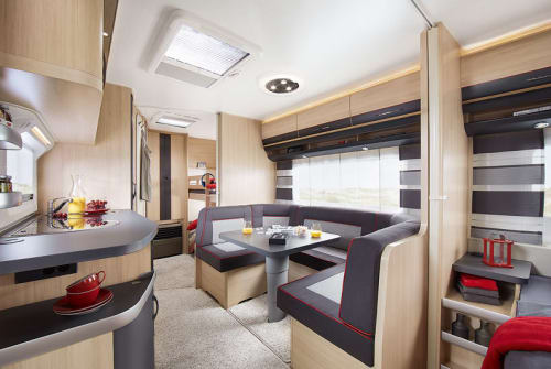 Hire a motorhome in Amöneburg from private owners| Hobby Hobby-Dick