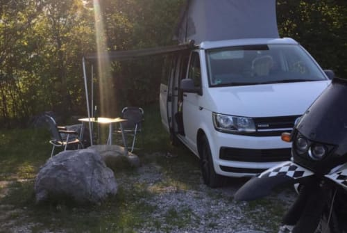 Hire a motorhome in Hausham from private owners| VW T6 T6 Cali Nichta