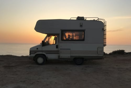Hire a motorhome in Cervelló from private owners| Fiat Ducato Talento Marcello