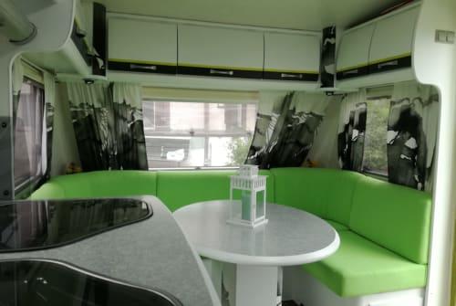Hire a motorhome in Eurasburg from private owners| LMC Caravan Muensterland Wiggerl