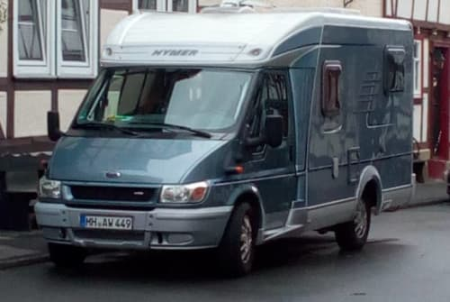 Hire a motorhome in Bad Sooden-Allendorf from private owners  Ford Hymer Nina