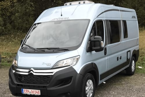 Hire a motorhome in Möhrendorf from private owners| Pössel Womo