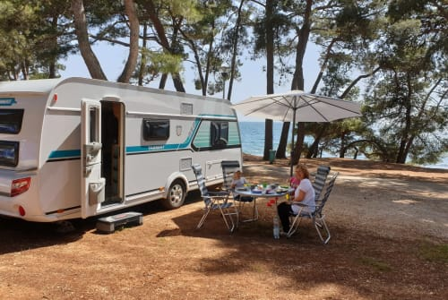 Hire a motorhome in Blaubeuren from private owners| TABBERT PEP 2018