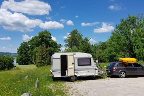 Hire a motorhome in Edingen-Neckarhausen from private owners| Hobby Dieter