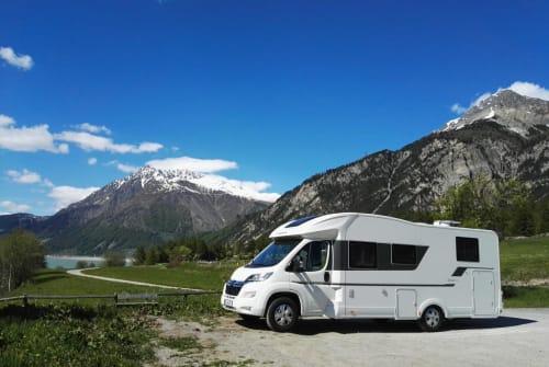 Hire a motorhome in Tannheim from private owners  Adria Schorschi