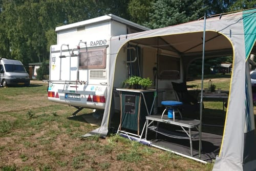 Hire a motorhome in Marxzell from private owners| Rapido 32 Rapido