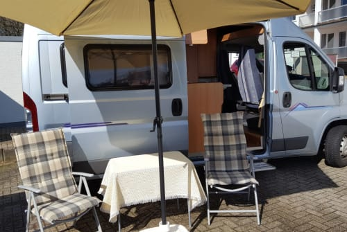 Hire a motorhome in Solingen from private owners| Pössl Hugo