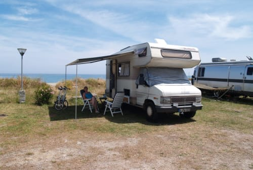"Hire a motorhome in Berlin from private owners| Fiat Ducato ""Tabea"""