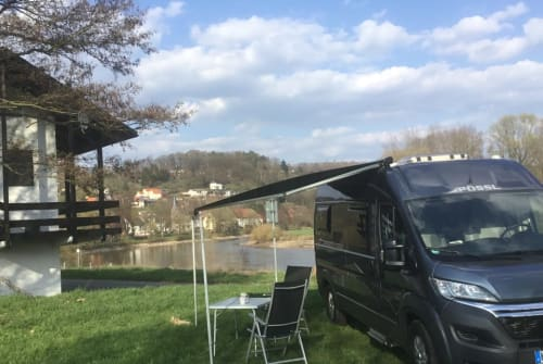 Hire a motorhome in Wüstheuterode from private owners  Pössl  Bruni