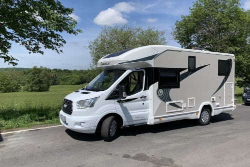 Hire a motorhome in Essen from private owners| Chausson Klausbärbel