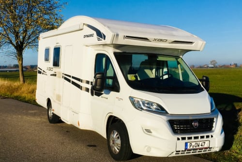 Hire a motorhome in Rostock from private owners  Fiat Ducato Heisenberg