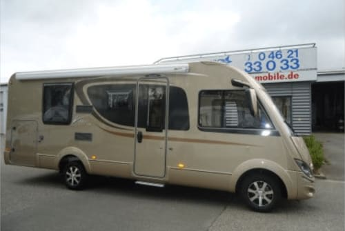 Hire a motorhome in Velen from private owners| Bürstener Viseo 720