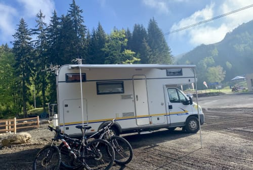 Hire a motorhome in Gotha from private owners  Eura Mobil Egon