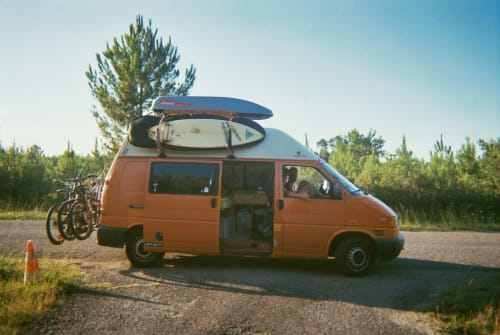 Hire a motorhome in Bad Emstal from private owners  VW T4 Wilfried