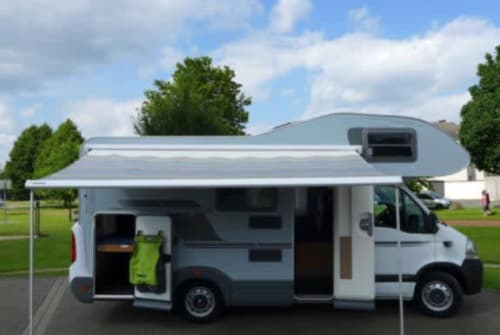 Hire a motorhome in Düsseldorf from private owners  Knaus  Pauline