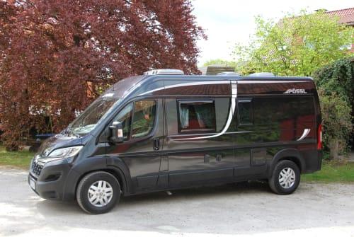 Hire a motorhome in Katlenburg-Lindau from private owners| Pössl Blackpearl