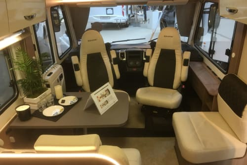 Hire a motorhome in Bedburg from private owners| Bürstner Luxury I 728