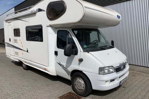 Hire a motorhome in Köln from private owners  Fiat Ducato  Gigant 500