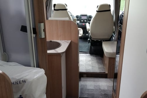 Hire a motorhome in Stammham from private owners| CARADO LISSI
