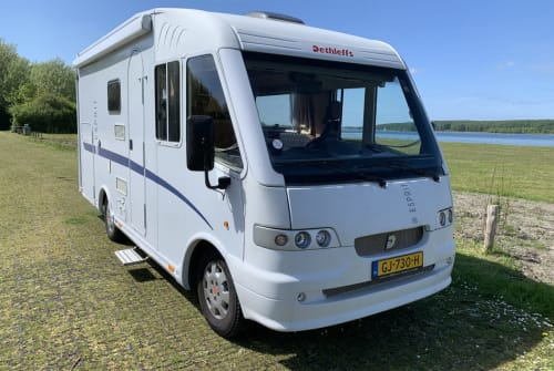 Hire a motorhome in Kloetinge from private owners| Fiat Integraal Dethleffs Camper Dethleffs 630