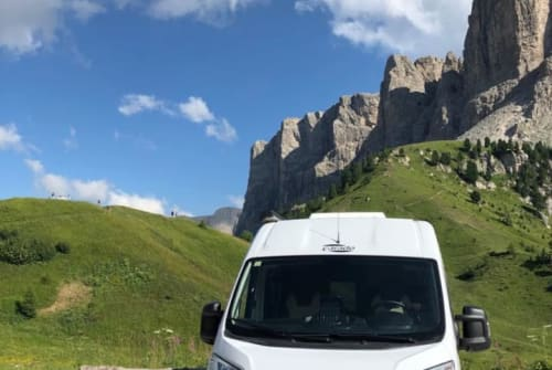 Hire a motorhome in Plankstadt from private owners| Carado Dani's Camper