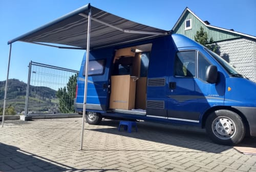 Hire a motorhome in Olsberg from private owners| Pössl Pössl WoMo