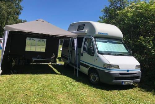 Hire a motorhome in Herrenberg from private owners| Fiat CamperohneNamen