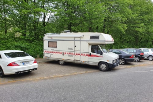 Hire a motorhome in Gützkow from private owners| Fiat  Bärbel