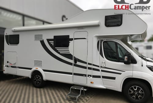 Hire a motorhome in Hassendorf from private owners| ELCHCamper Family² - A702