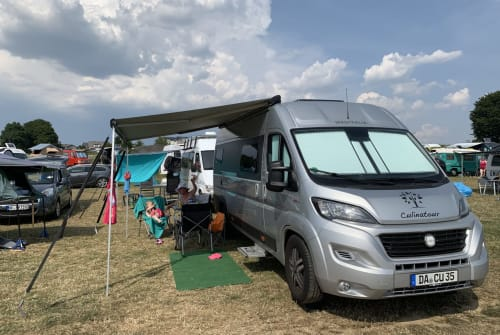 Hire a motorhome in Darmstadt from private owners| Westfalia Silver Dreamer