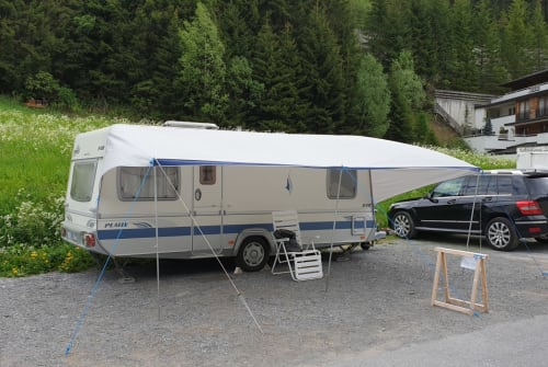 Hire a motorhome in Ischgl from private owners| Fendt Fendti