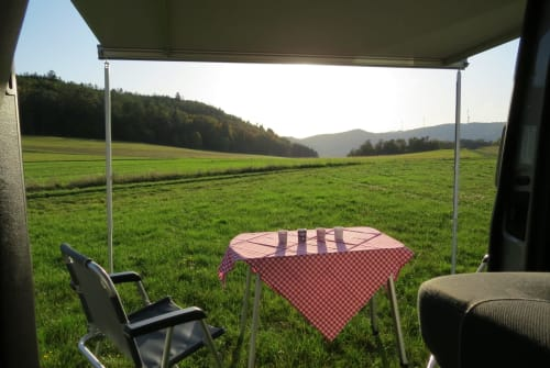 Hire a motorhome in Biedenkopf from private owners| VW Calinchen