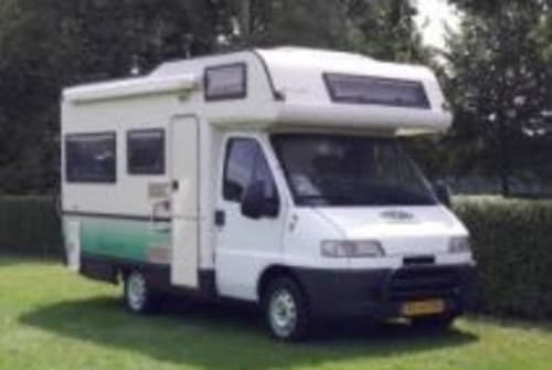 Hire a motorhome in Den Haag from private owners| Fiat Sminty Minty