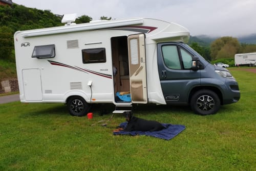 Hire a motorhome in Brachttal from private owners  PLA Fuzzi