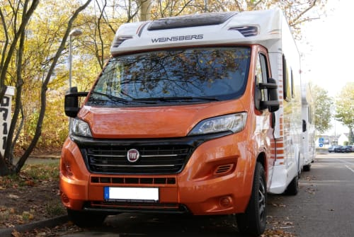Hire a motorhome in Tamm from private owners| Weinsberg Carasuite IC