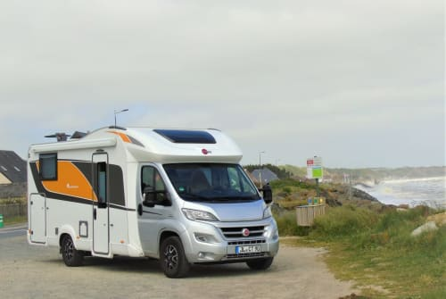 Hire a motorhome in Möser from private owners  Bürstner  Willy