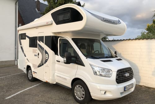 Hire a motorhome in Warburg from private owners  Ford Traveler