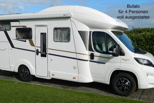 Hire a motorhome in Schongau from private owners  Eura Bufalo