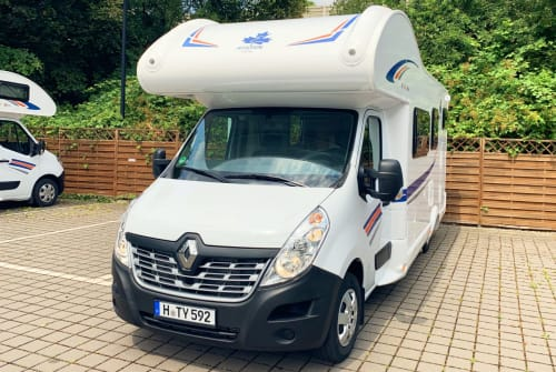 Hire a motorhome in Hannover from private owners| Renault Magellan